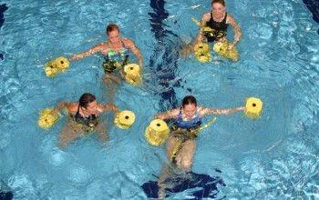 Гімнастика в басейні