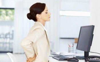 Негативний вплив сидячої роботи на здоров`я спини