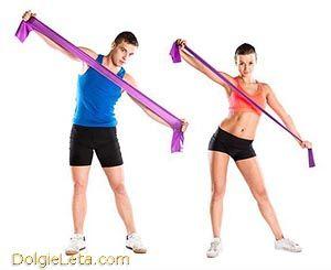 Комплекс занять і вправ з еспандером для чоловіків і жінок